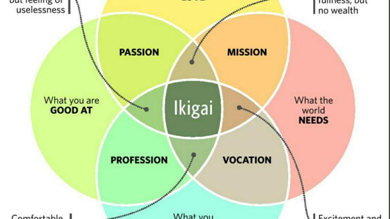 Ikigai 是什麼? 日本人長壽幸福的秘訣